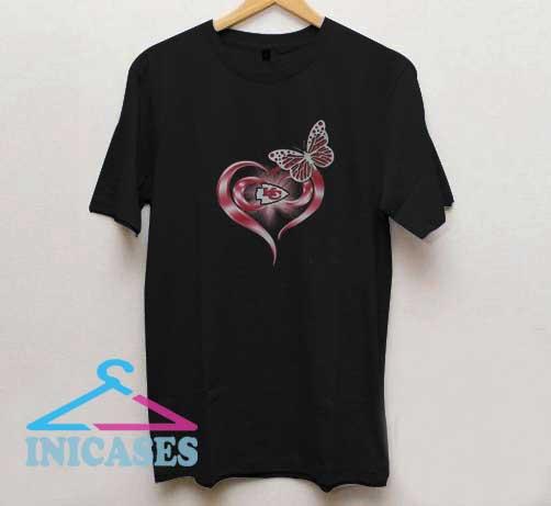 Butterfly Love Kansas City T Shirt