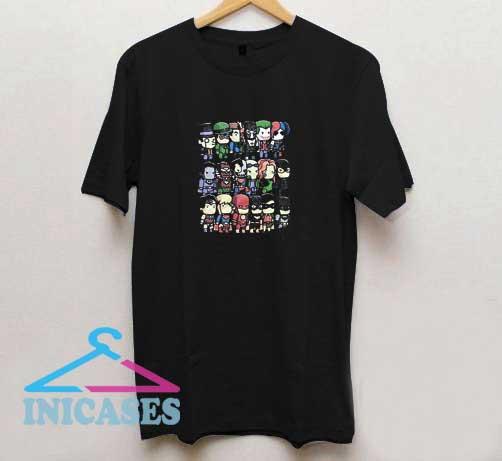Characters DC Comics T Shirt