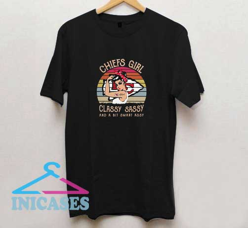Chiefs Girl Classy Sassy T Shirt