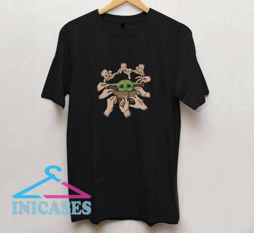 Cute Baby Yoda T Shirt