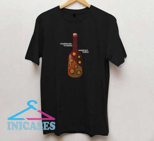 Dandelion wine is a summer cought and botteled T Shirt