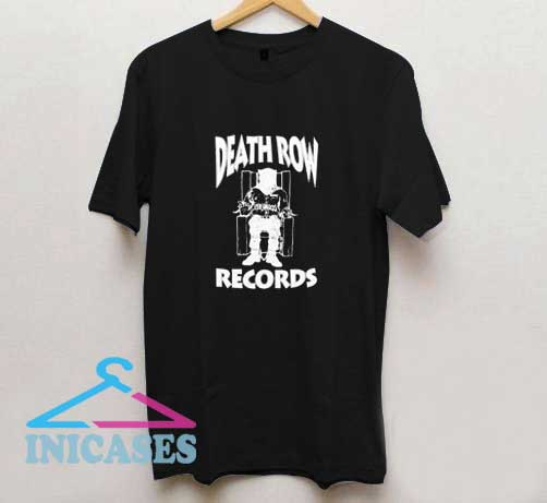 Death Row Records Graphic T Shirt
