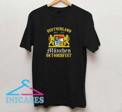 Deutschland Munchen Oktoberfest T Shirt