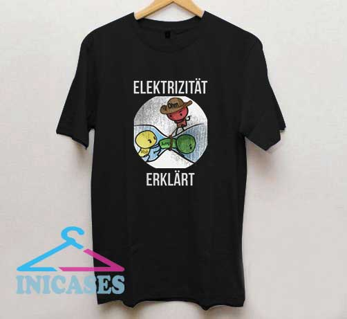 Electricity Explained Funny Electrician T Shirt
