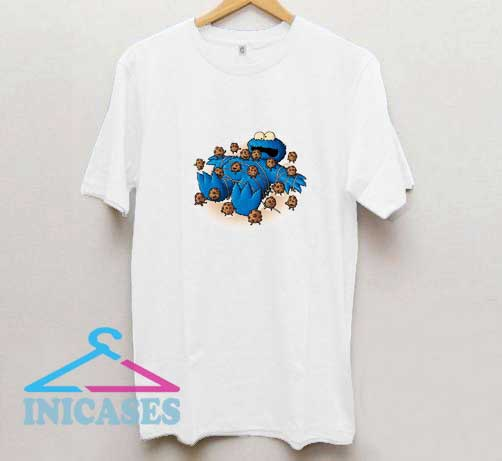 Funny Cookie Monster T Shirt