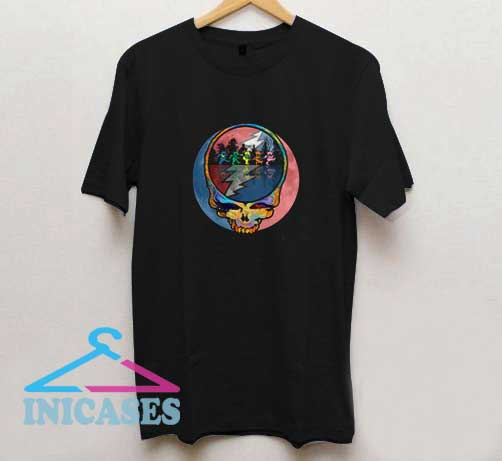 Grateful Dead Bears Graphic T Shirt