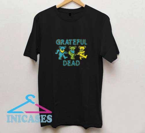 Grateful Dead Dancing Bears T Shirt