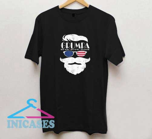 Grumpa The Man The Myth The Legend T Shirt