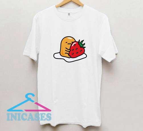 Gudetama Eat Strawberry T Shirt