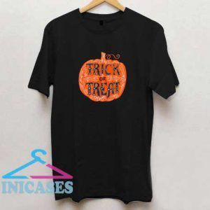 Halloween Trick Or Treat Pumpkin T Shirt