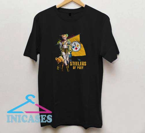 Harley Quinn Pittsburgh Steelers T Shirt