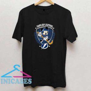 Hockey Mickey Team Tampa Bay Lightning T Shirt