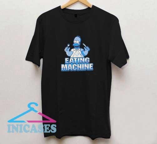 Homer Simpson Eating Machine T Shirt