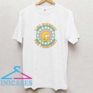Lisa Simpson For President T Shirt