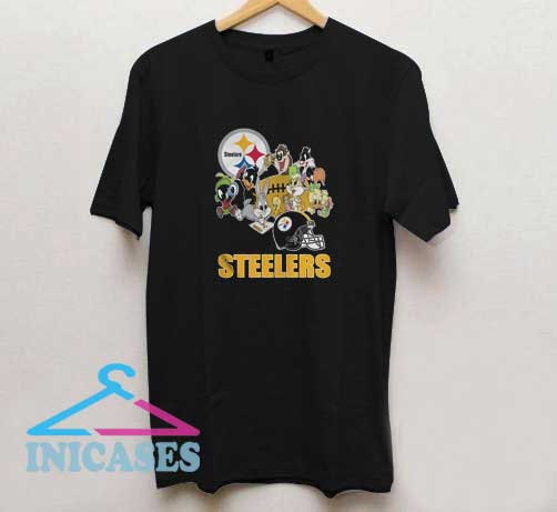Looney Tunes With Steelers T Shirt