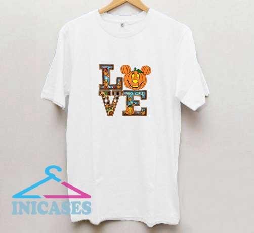 Love Mickey Halloween T Shirt