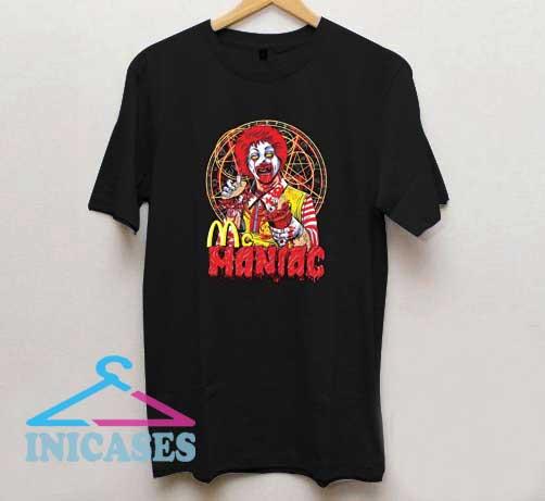 McManiac Zombie Ronald McDonald T Shirt