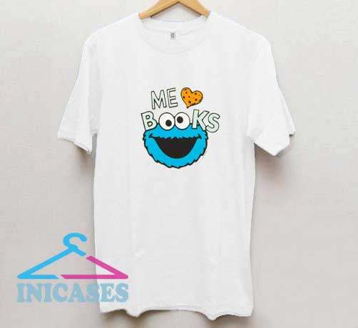 Me Love Books Cookie T Shirt