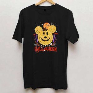 Mickey Mouse Happy Halloween T Shirt