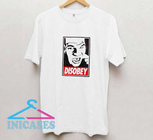 Mike Tyson Disobey T Shirt