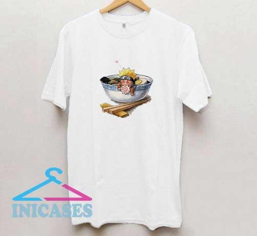 Naruto Eat Ramen T Shirt