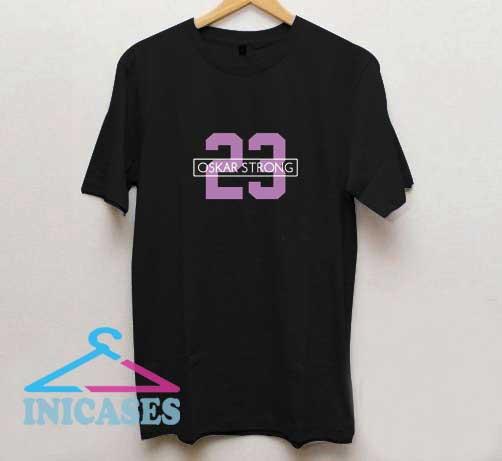 Oskar Strong 23 T Shirt