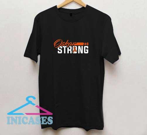 Oskar Strong Cancer T Shirt