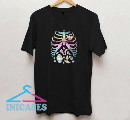 Pastel Goth Skeleton II T Shirt