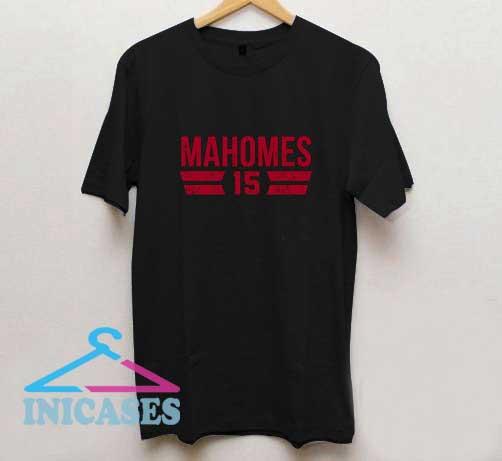 Patrick Mahomes 15 Font T Shirt