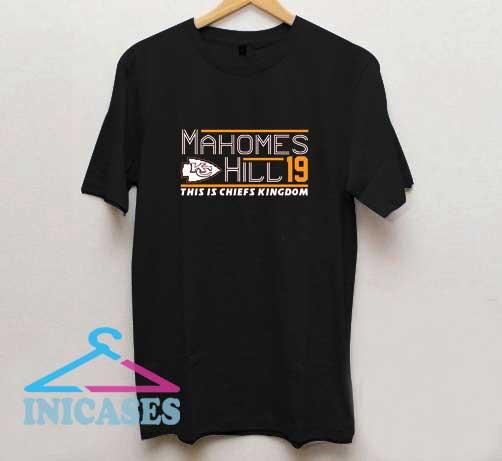 Patrick Mahomes Tyreek Hill 19 T Shirt