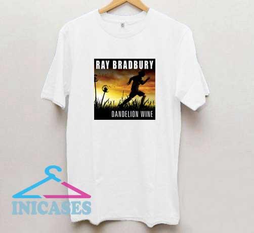 Ray Bradbury Dandelion Wine Poster T Shirt