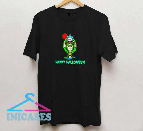 Rick Morty Happy Halloween T Shirt