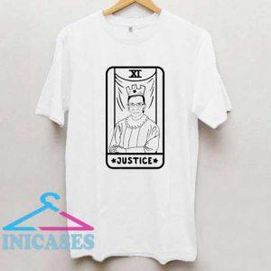 Ruth Bader Ginsburg Justice Tarot T Shirt