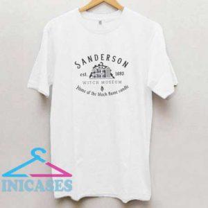Sanderson Witch Museum Est 1693 T Shirt