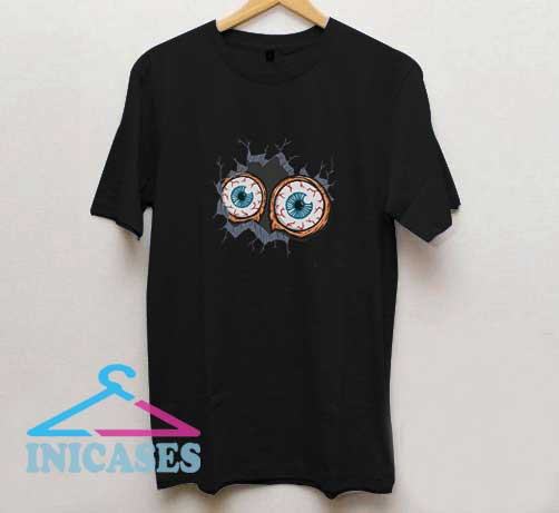 Scary Bloodshot Eyes T Shirt
