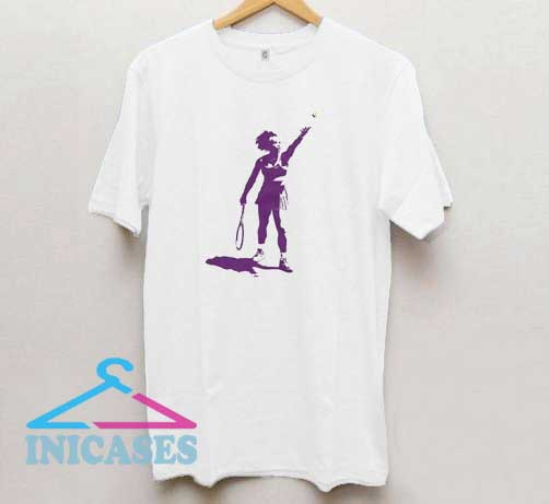 Serena Williams Art T Shirt