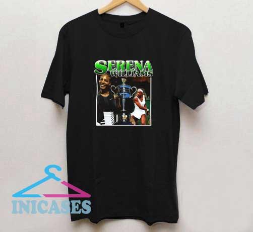 Serena Williams Photo T Shirt