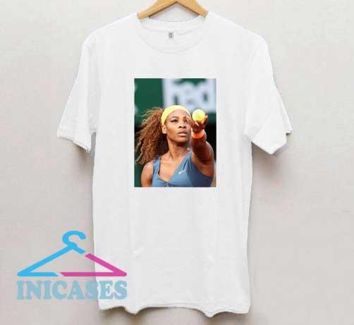 Serena Williams Photos T Shirt