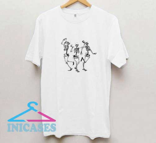 Skeleton Dancing T Shirt
