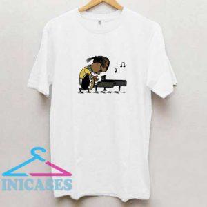 Snoop Dogg Playing Piano T Shirt