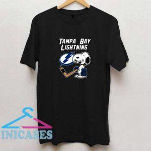 Tampa Bay Lightning Hockey Snoopy T Shirt