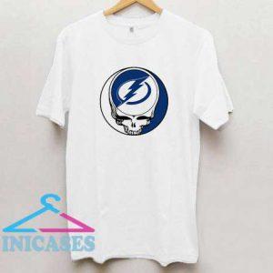 Tampa Bay Lightning x Grateful Dead Logo T Shirt