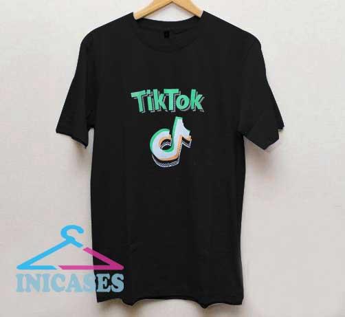 Tik Tok Graphic Colour T Shirt