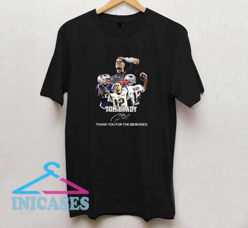 Tom Brady Thank You For The Memories T Shirt