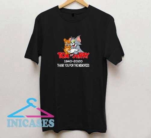 Tom and Jerry Memories T Shirt