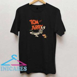 Tom and Jerry Run Vintage T Shirt