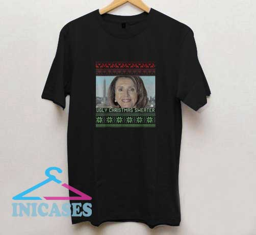 Ugly Christmas Sweater Nancy Pelosi T Shirt