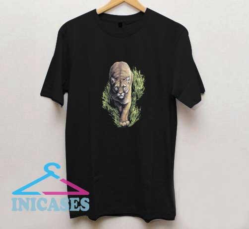 Vintage Tiger Graphic T Shirt