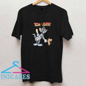 Vintage Tom and Jerry Shake Hand T Shirt