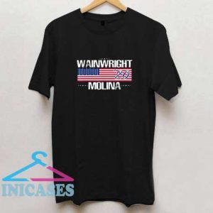 Wainwright Molina 2020 American Flag T Shirt